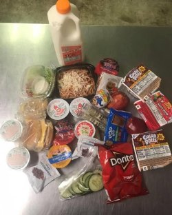 Picture of the Grab and Go food.
